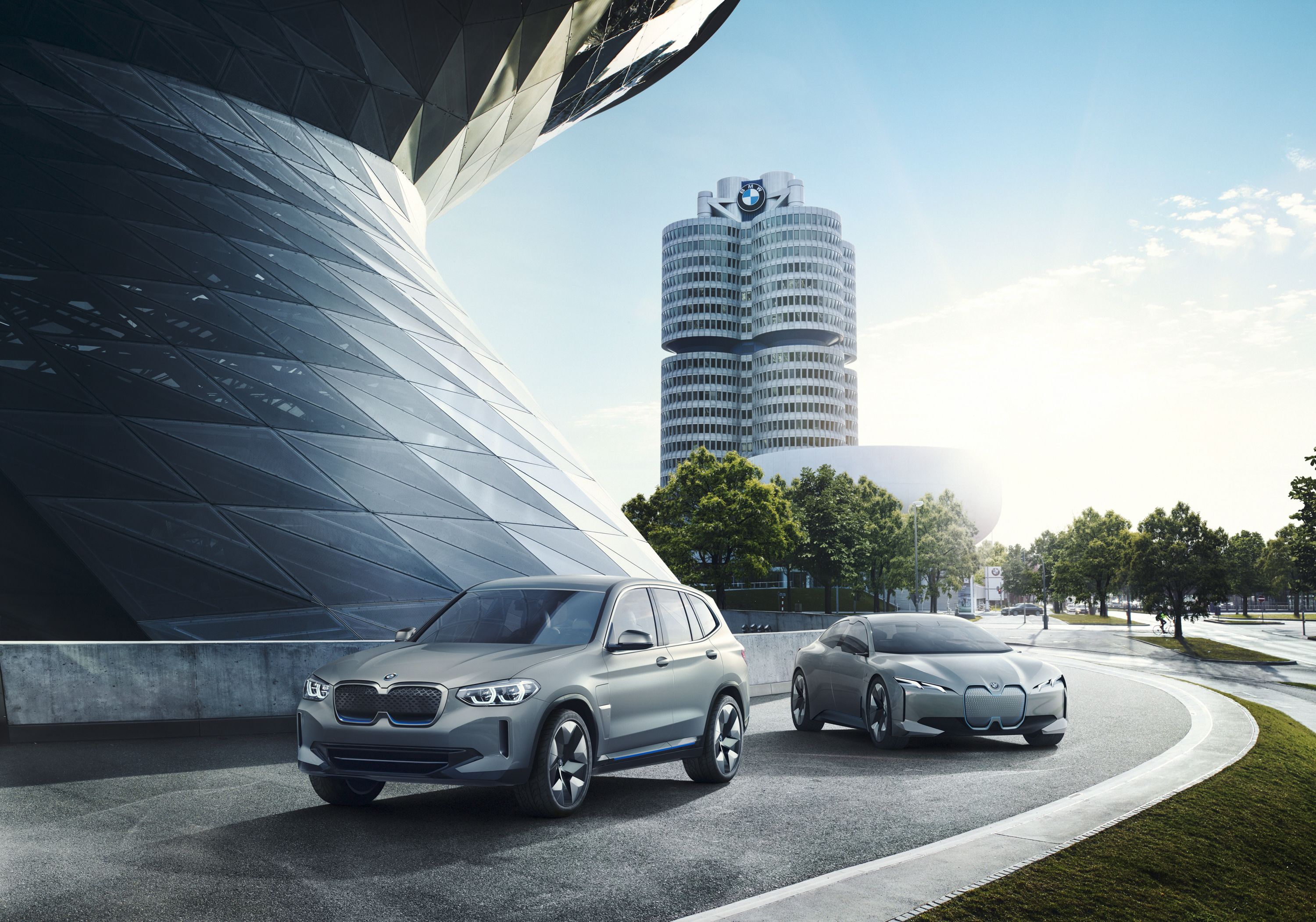 The BMW iX3 electric powered concept debuts in Beijing